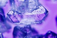 Кристаллы сахара Стоковая Фотография