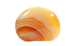 Кристаллы халцедона агата геологохимические Стоковая Фотография
