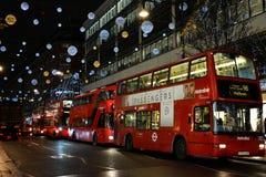 Кристмас в Лондоне Стоковое Фото