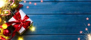 Кристмас или подарок Новый Год стоковое изображение