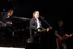 Крис de Бург в концерте стоковое изображение