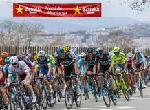 Крис Froome - Вольта Ciclista Catalunya 2016 Стоковые Изображения