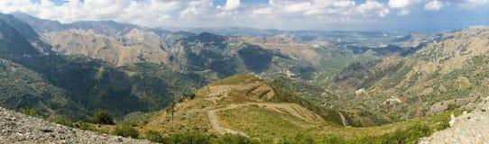 критский ландшафт Стоковые Фото