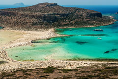 Крит, Греция: Лагуна Balos стоковое фото rf
