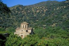 Крит, Fodele стоковое изображение rf