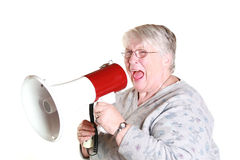 кричать бабушки Стоковое Изображение RF