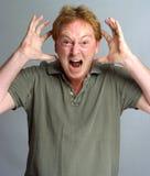 кричать человека Стоковая Фотография RF