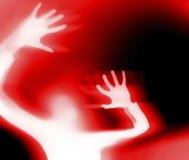 Кричащая женщина Стоковые Фотографии RF