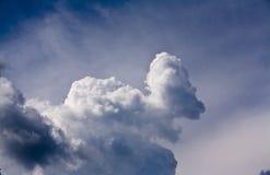 Кричащее облако (кучевые средние облако) Стоковая Фотография RF