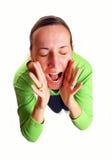 крича детеныши женщины Стоковые Изображения RF