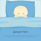 Кровати младенца Иллюстрация штока