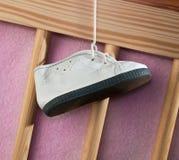 кроватка s детей ботинка Стоковое Изображение