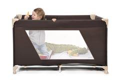 Кровать игры стоковая фотография