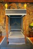 кровать королевская Стоковая Фотография