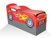 Кровать малолитражного автомобиля Стоковые Фотографии RF