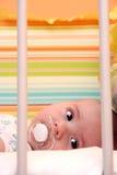кровать младенца Стоковые Фотографии RF