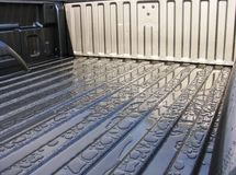 кровать падает новый корабль поверхности дождя стоковое изображение rf