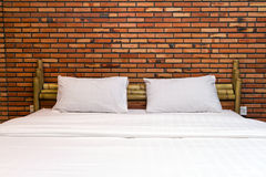 кровать пустая Стоковые Изображения