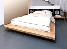 кровать самомоднейшая Стоковые Фотографии RF