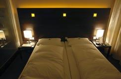 кровать самомоднейшая Стоковая Фотография