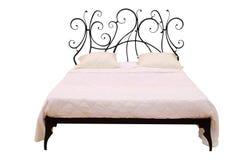 кровать самомоднейшая Стоковые Фото