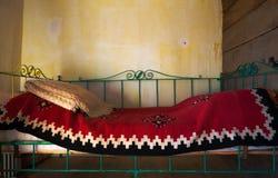 кровать старая Стоковая Фотография RF