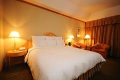кровать уютная Стоковое фото RF