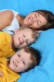 кровать Стоковые Фото