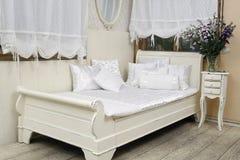 кровать Стоковая Фотография