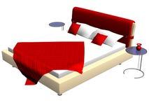 кровать иллюстрация вектора
