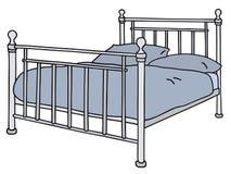 Кровать Стоковое фото RF