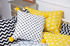 Кровать ` s красивых детей, другие цвета Стоковые Фотографии RF
