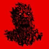 Кровопролитная концепция демона также вектор иллюстрации притяжки corel бесплатная иллюстрация