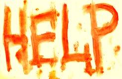 кровопролитная надпись стоковая фотография