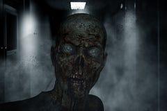 кровопролитное зомби иллюстрация вектора