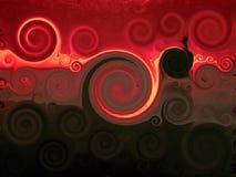 кровопролитное небо Стоковая Фотография RF
