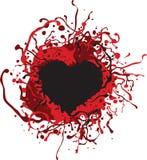 кровопролитное сердце Стоковые Фотографии RF