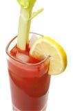 кровопролитный изолированный лимон mary Стоковое Изображение RF