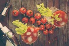 кровопролитный коктеил mary Стоковое Изображение RF