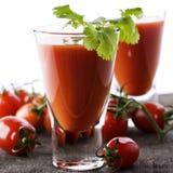 кровопролитный свежий томат mary сока Стоковые Изображения RF