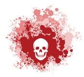 Кровопролитный череп Стоковые Фотографии RF