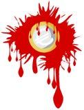 Кровопролитное евро иллюстрация вектора
