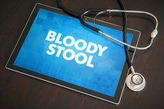 Кровопролитное medica диагноза табуретки (желудочно-кишечного связанного заболевания) бесплатная иллюстрация