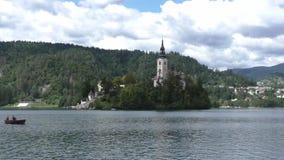 Кровоточенное озеро в Словении 133533 акции видеоматериалы