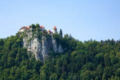 кровоточенный замок Стоковая Фотография