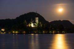 Кровоточенный замок Стоковое фото RF