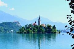 Кровоточенный, Словения стоковое фото