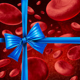 кровь дарит Стоковые Фото