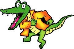 крокодил Стоковое Фото