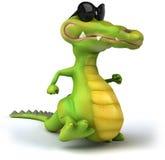 Крокодил потехи иллюстрация штока